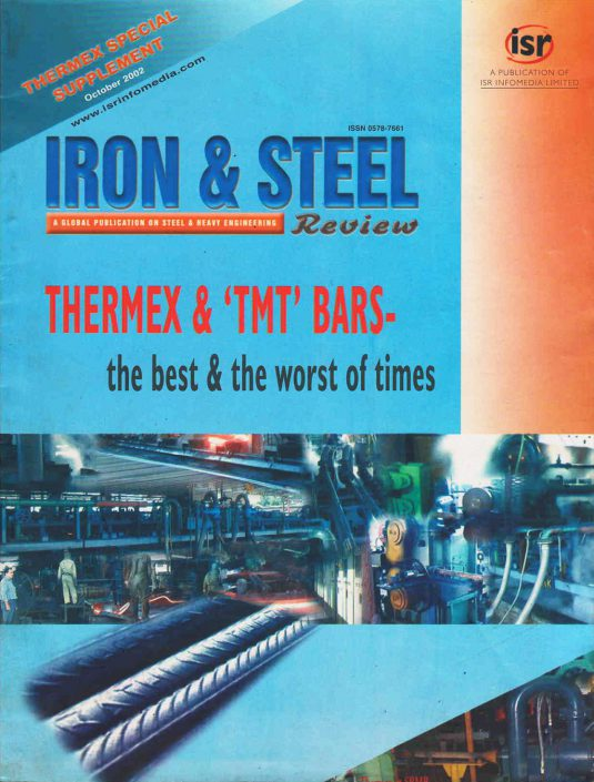 Iron & Steel Review | October 2002 | Cover