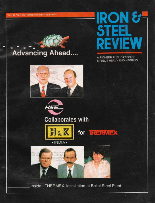 Iron & Steel Review | September 1994 | Cover