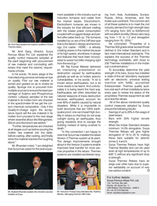 The Masterbuilder | August 2013 | Page 2